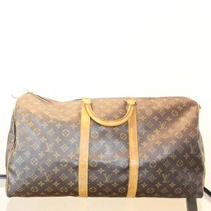 **SOLD** LOUIS VUITTON Monogram Canvas Keepall 55